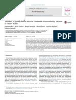 Efecto de los campos eléctricos pulsados en la bioaccesibilidad de los carotenoides