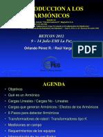 Betcon 2012 Armònicos Opr y Rva