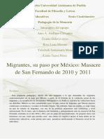 Trabajo Migración