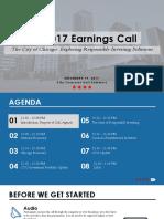 2017 Q3 Quarterly Earnings Call 11.14.17 FINAL
