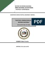 Examen de Conduccion de La Defensa