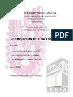 Demolicion- 7CM8