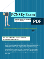 Palo-Alto-Networks PCNSE7 Exam Best Study Guide - PCNSE7 Exam Questions Answers