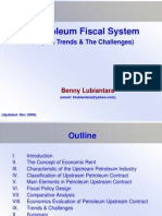 Petroleum Fiscal System, The Trends and The Challenges