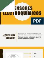 Sensores electroquímicos