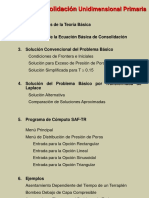 CONSOLIDACION EN SUELOS.GEOTECNIA.UNI