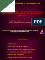 POTENCIAL DE LICUEFACCION DE SUELOS.GEOTECNIA.ALVA.UNI