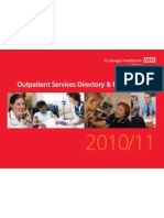 St George's Outpatient Services Directory & Referral Guide 2010/2011