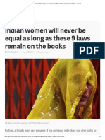 Indian Women Will Never Be Equal as Long as These 9 Laws Remain on the Books — Quartz