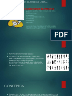 Formas de Conclusión Del Proceso Laboral