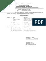 Surat Tugas Keken Desa Air Balui Bulan Juni