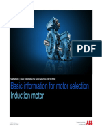 Presentation Basic Information for Motor Selection ABB