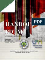Cover Handout Pdtm
