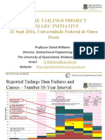 Future Tailings Project a Uq Gec Initiative Prof David Williams