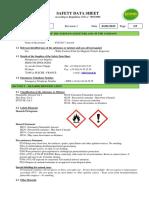 Fluxo 7 Aero Msds Revision 1 01.01.2015