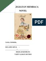 Buku Kegiatan Membaca Novel Heidi