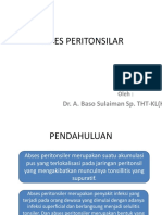 Abses Peritonsilar by Dr.baso