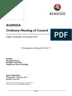 20171115 Ordinary Agenda 15 November 2017