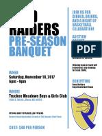 raiders pre-season banquet flyer- draft