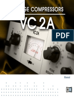 Vintage Compressors VC 2A Manual English