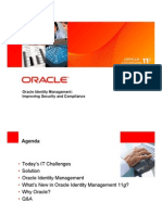 Oracle Identity Management 11g Improving Security and Compliance