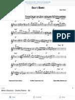 Billie's Bounce PDF - Cerca Con Google