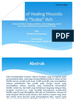 Pruritus of Healing Wounds