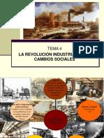 La Revolución Industrial y Los Cambios Sociales