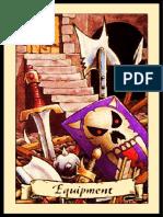 Armas Hero Quest en Hojas A4