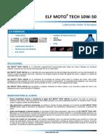 FichTec_Elf_Moto 4 Tech 10W50_Junio 2012