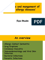 Diagnosis and Mangement of Skin Allergy Diseases