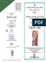 2017 21 Nov Entry Festal Matdivlit Hymns