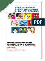 Notulensi Penyegaran Kader PHBS Dan Jumantik