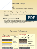 Pavement Design CE410 2016