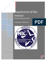 Nbc Competency Dictionary
