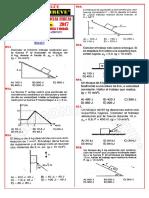 ficha de ejercicios de fisica N°05 4° y 5° de secundaria