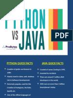Python vs Java | ProBytes