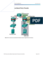 4.4.1.2 Lab - Configuring Zone-Based Policy Firewalls (Filled)