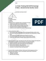 Soal-Soal Higher Order Thinking Skill (HOTS) Sosiologi Materi Kelas XI Bab 1. Bentuk-bentuk Struktur Sosial.pdf