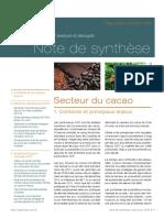Le commerce ACP analysé et décrypté - Note de synthèse
