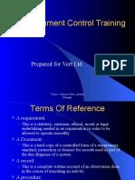 Document Control Training