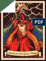 Cartas Magicas de Hero Quest A4