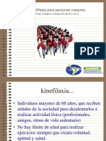 Kinefilaxia Para Personas Mayores Congreso SL 2015copie