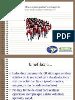 Kinefilaxia Para Personas Mayores Congreso SL 2015copie