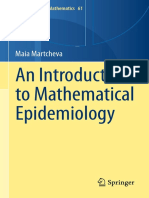An Introduction to Mathematical Epidemiology Volume 61