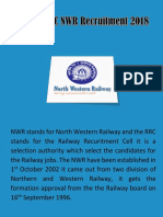 RRC NWR Recruitment 2018