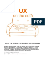 UX on the sofa #2 - Giacomo Mason