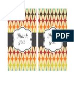 Thank You Card Template 37