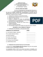 Acta Quimestre i