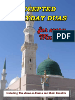 Accepted Everyday Duas Digital Ed